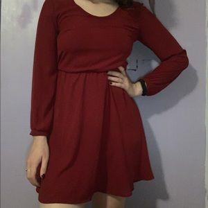 Lush Long Sleeve Dress